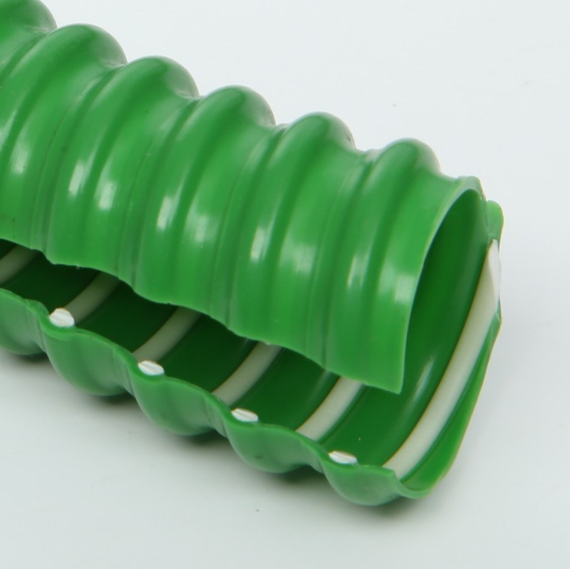 China Flexible Pvc Reinforced Hose For Wire Cable