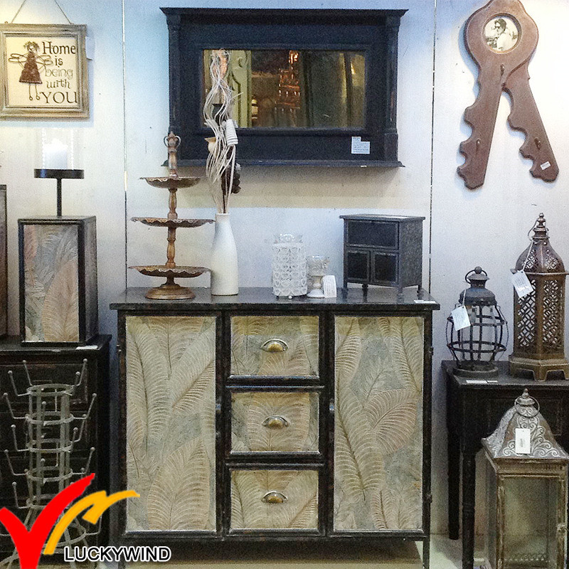 China Wholesale Shabby Chic Vintage Industrial Furniture For Home And Hotel Decor China Metal