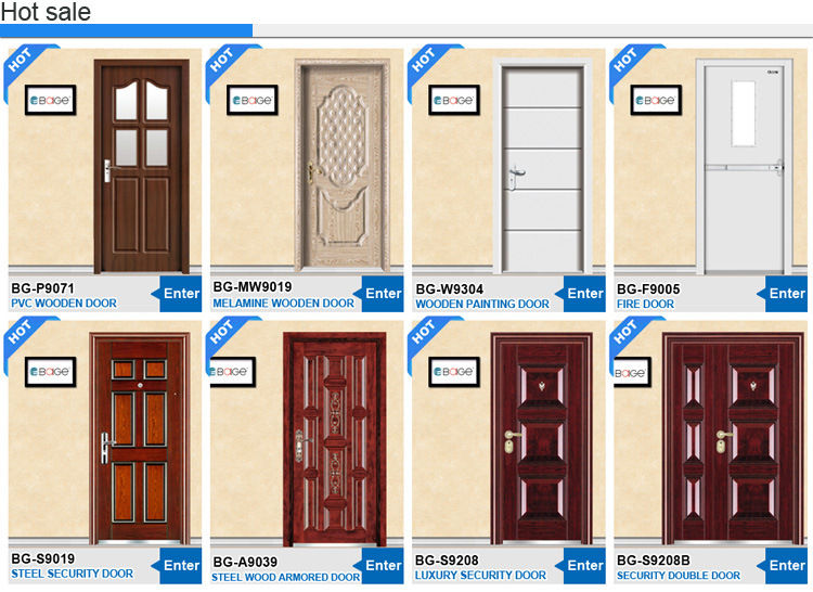 Puertas De Aluminio Para Baño Interior:Puerta interior de aluminio impermeable del cuarto de baño (BG-AW9028