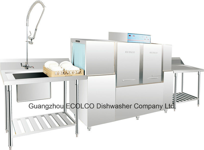 open conveyor dishwashing machine