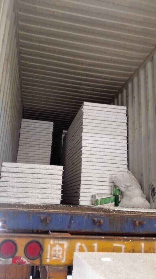 EPS Foam Prefabricated Sandwich Panel / Ready Made Walls / Prefabricated House Prefabricated