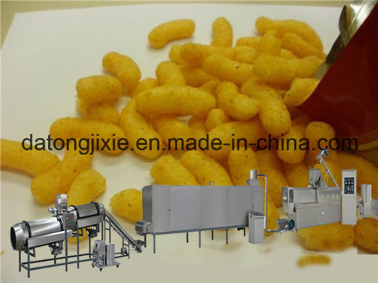 Expanded Snack Food Extruder Machine