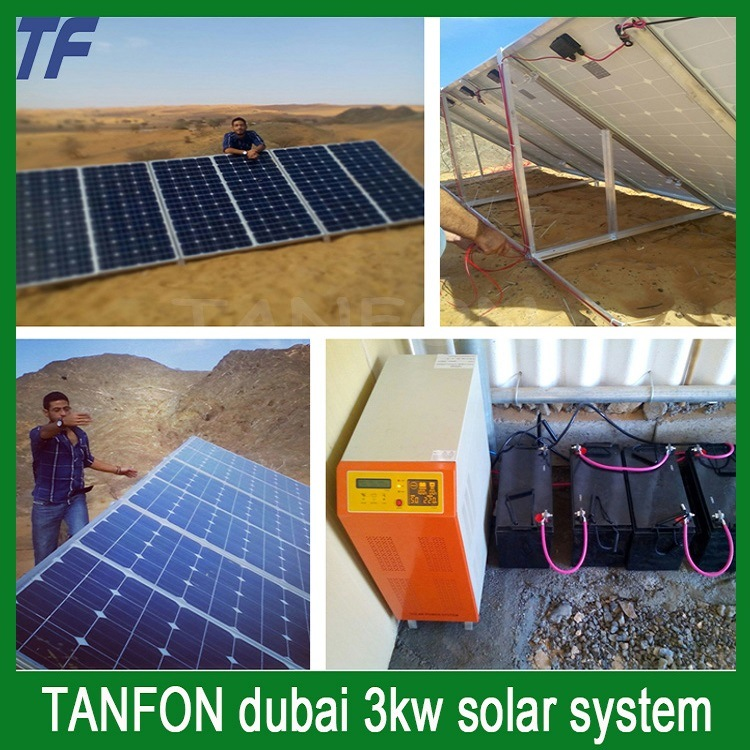 Gerador Solar Home 5000w Todo No Sistema Cheio Solar Da