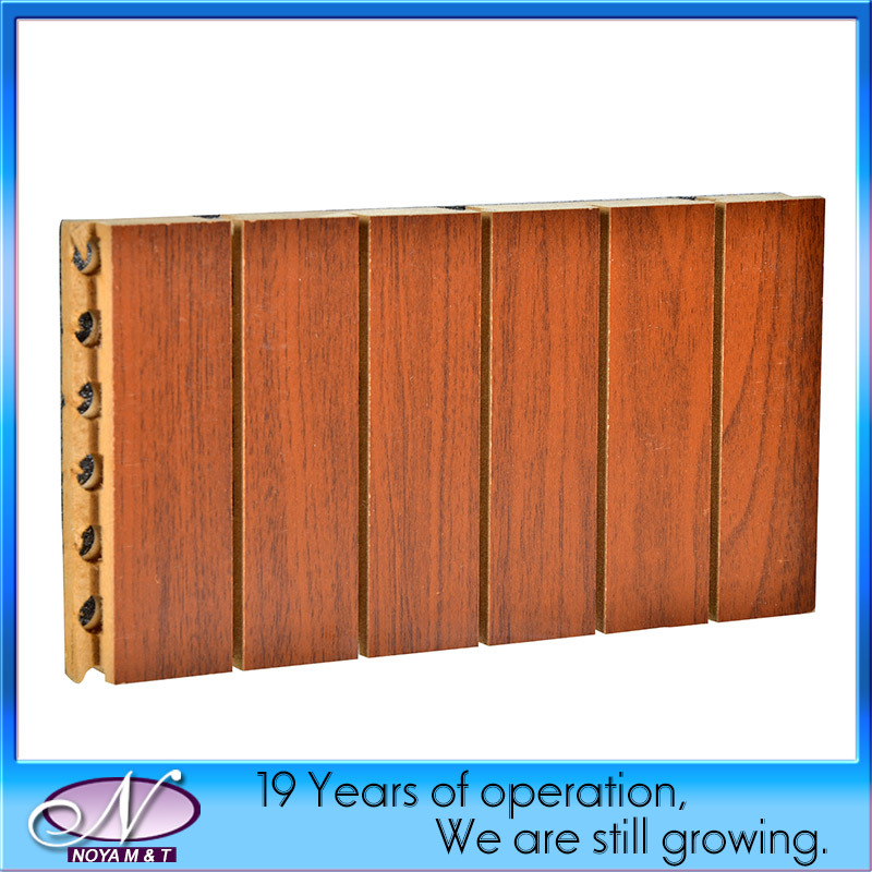 Acoustic Soundproofing Wooden Board Panel for Ceiling/Wall Decorative