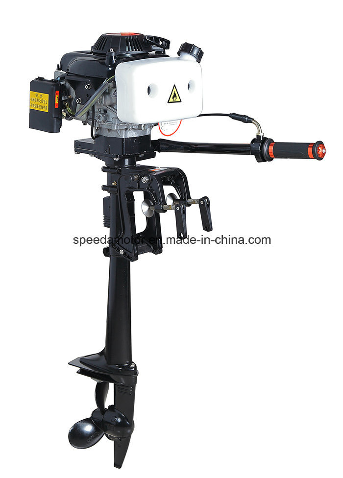 China air cooled 3 6hp 4 stroke hangkai outboard motor for Hangkai 3 5 hp outboard motor manual