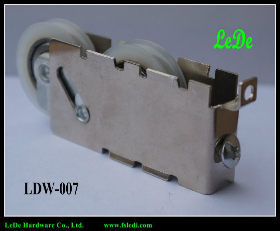 Double Roller in Nylon Roller & Iron Frame Hot Selling Aluminium Sliding Door Roller