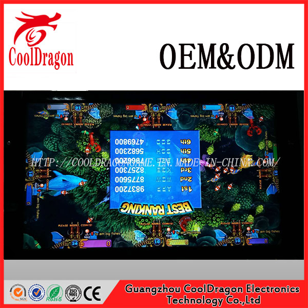China 3d fishing game machine ocean monster plus thunder for Cool fishing games