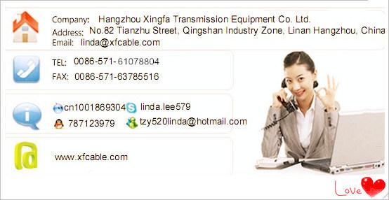 Xingfa Manufactured RG6 U Messenger Cable