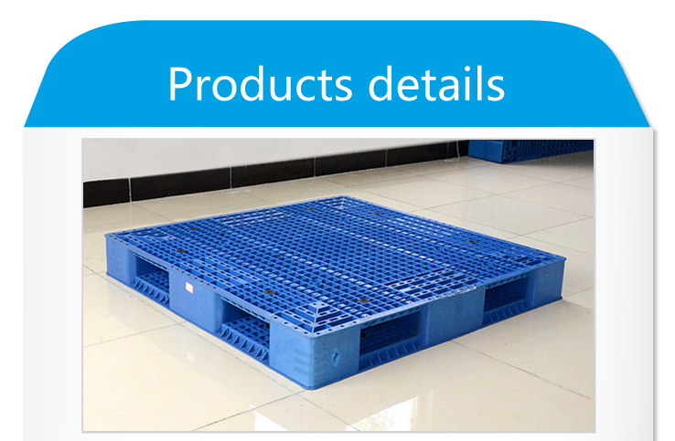 Grid Double Sides Heavy Deck Rackable Plastic Pallet (ZG-1412)