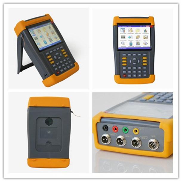 Portable Electric Power Meter : Three phase monitor wiring diagram regulator