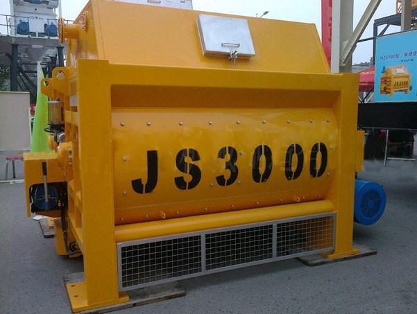 Js3000 Twin Shaft Concrete Mixer (150m3/h)
