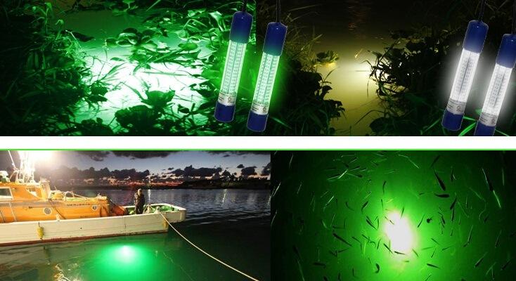 12v 60w underwater white led fishing light, snook light, dock, Reel Combo