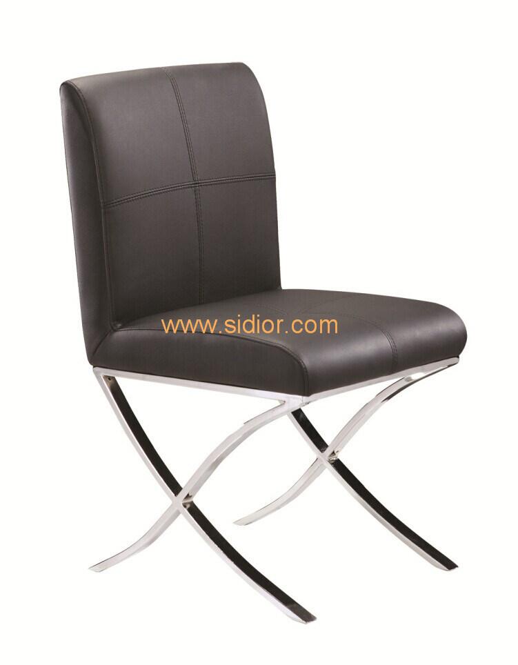 (SD-1026) Modern Home Restaurant Dining Furniture Chromed Steel Dining Chair