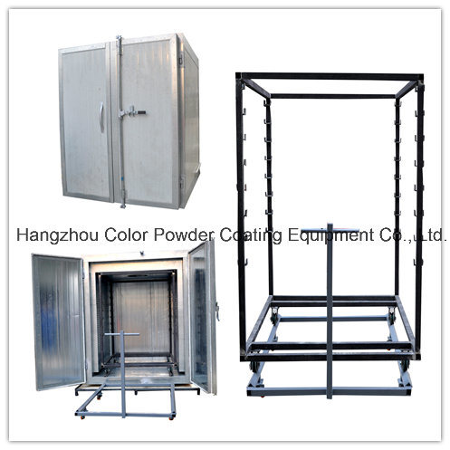 China electrostatic powder coating curing oven china gas for Paint curing oven