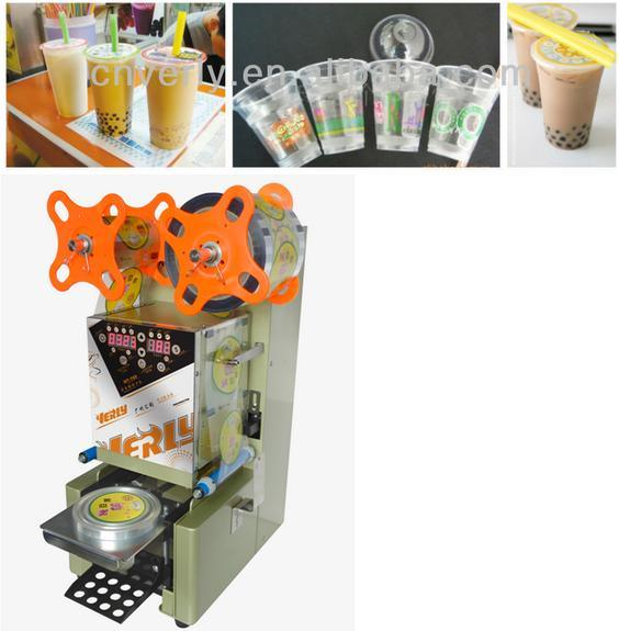 2016 New Full Automatic Digital Cup Sealing Machine Sealer (WY-980)