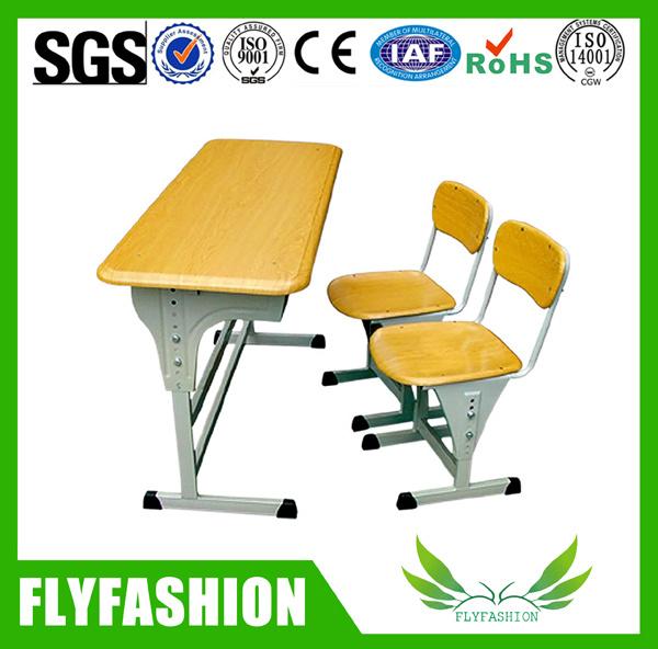 Mobilier scolaire en bois de werzalit de chaise de bureau for Mobilier bureau etudiant