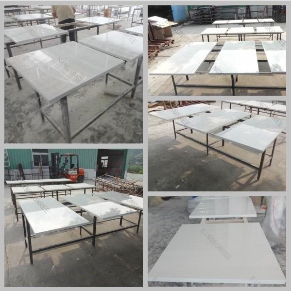 Tableau de marbre artificiel ext rieur solide acrylique for Table exterieur solide