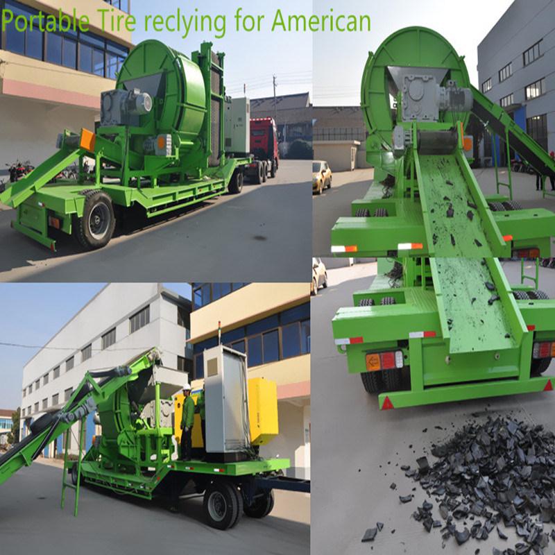 tire chipper machine