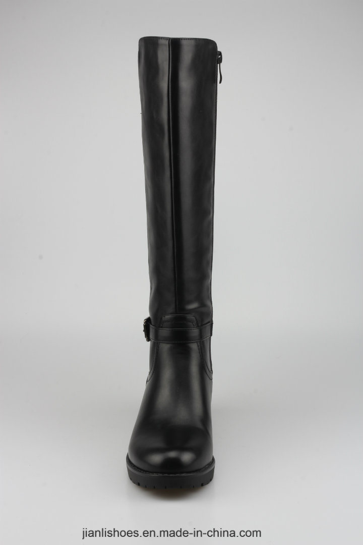 2018 Classic Style Women PU Boots with Contracted Decoration (BT761)