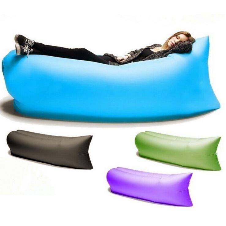 Inflatable Mattress Bed Frame 2016 newfangled inflatable sleeping bag sofa
