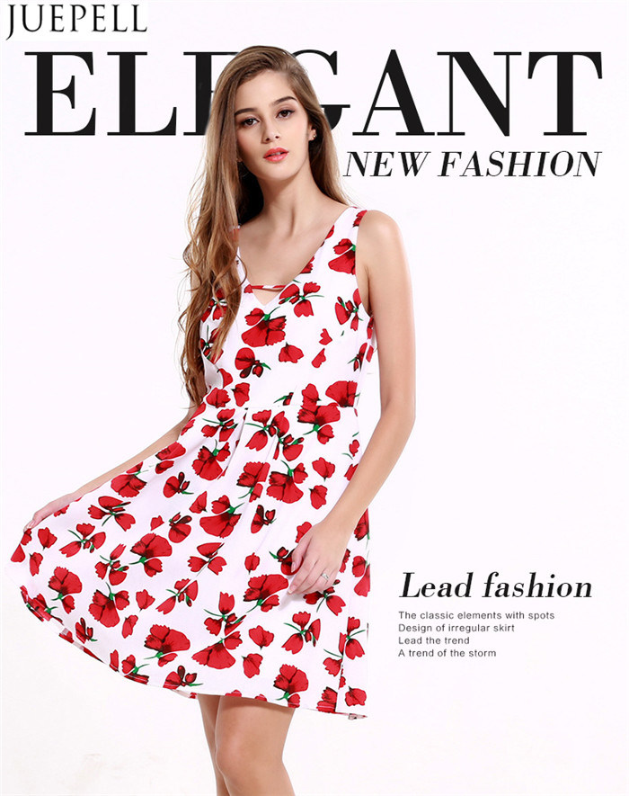 8ab93209dbae Summer New Women Sexy Halter Print Dress Long European and American V-Neck  Sleeveless Dress