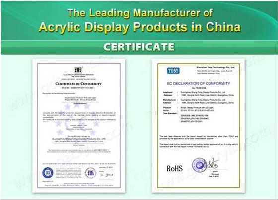 China LED Acrylic Cigarette Holder with Customed