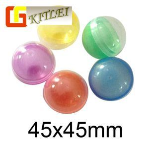 Plastic Toy Egg Capsules for Vending Machine Toy Decoration or Promotion Gift