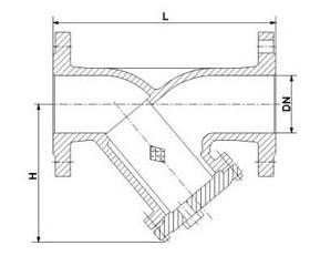 DIN Y Type Strainer (GAGL41H)