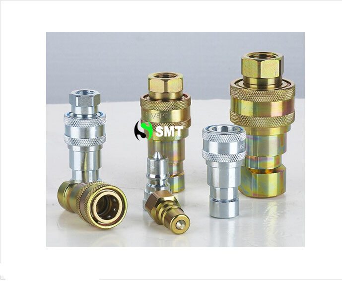 Stainless Hydraulic Quick Coupler : China iso quick disconnect coupling steel and stainless