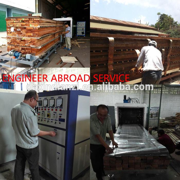 China Best Manufacturer Hf Vacuum Oak Timber Floor Drying Kiln Machine ...