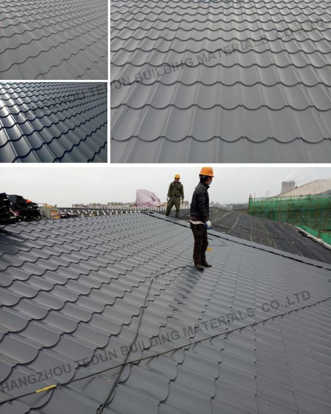 Prepainted Corrugated /Galvanized Steel Roofing Sheet/Metal Roof/Galvanized  Sheet/Hot Sale