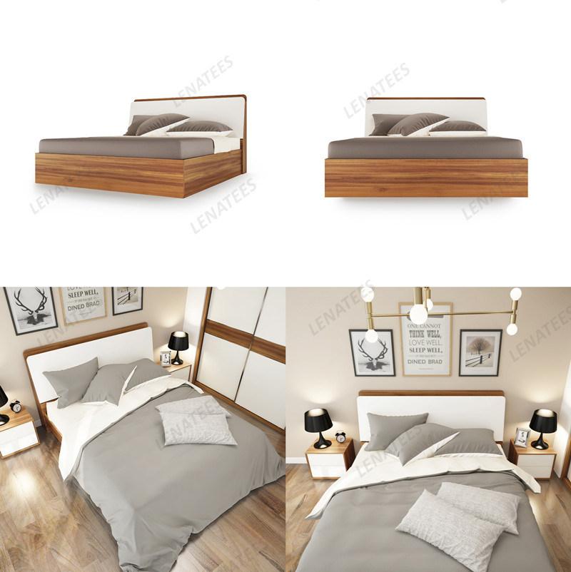 Base contemporanea di legno della mobilia dell 39 hotel della for Mobilia home catalogo