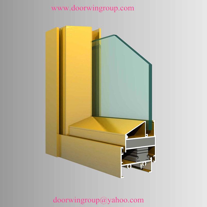 Ventana que aterroriza de aluminio para la casa ventana for Best wood window brands