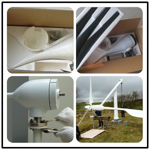 Generatore di turbina basso del vento della casa rpm del for Generatore di casa virtuale gratuito