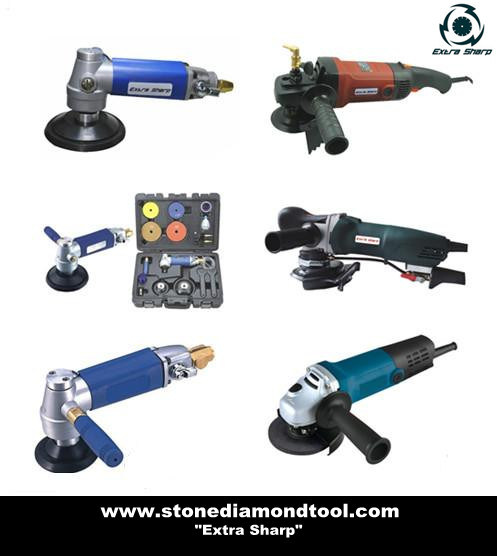 China Variable Speed Electric Mini Wet Angle Grinder