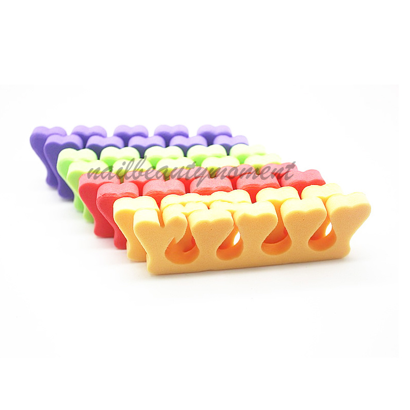 Nail Art Sponge Toe Separator Manicure Beauty Tools (FF11)
