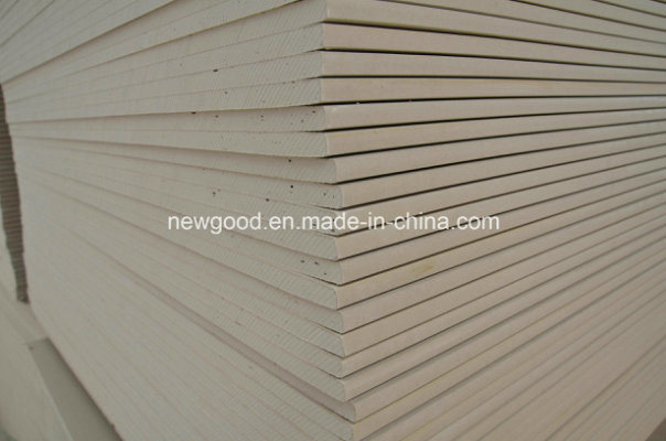 China standard paper faced gypsum board plasterboard