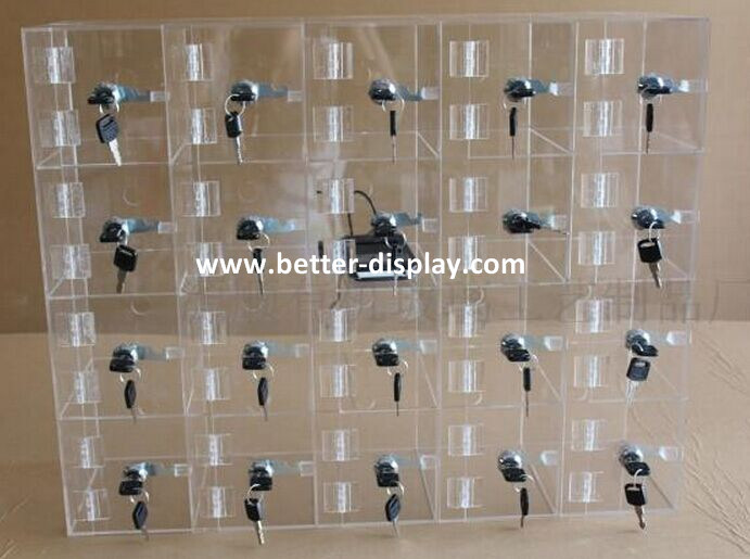 China Clear Mobile Phone Display Cabinet Cell Phone