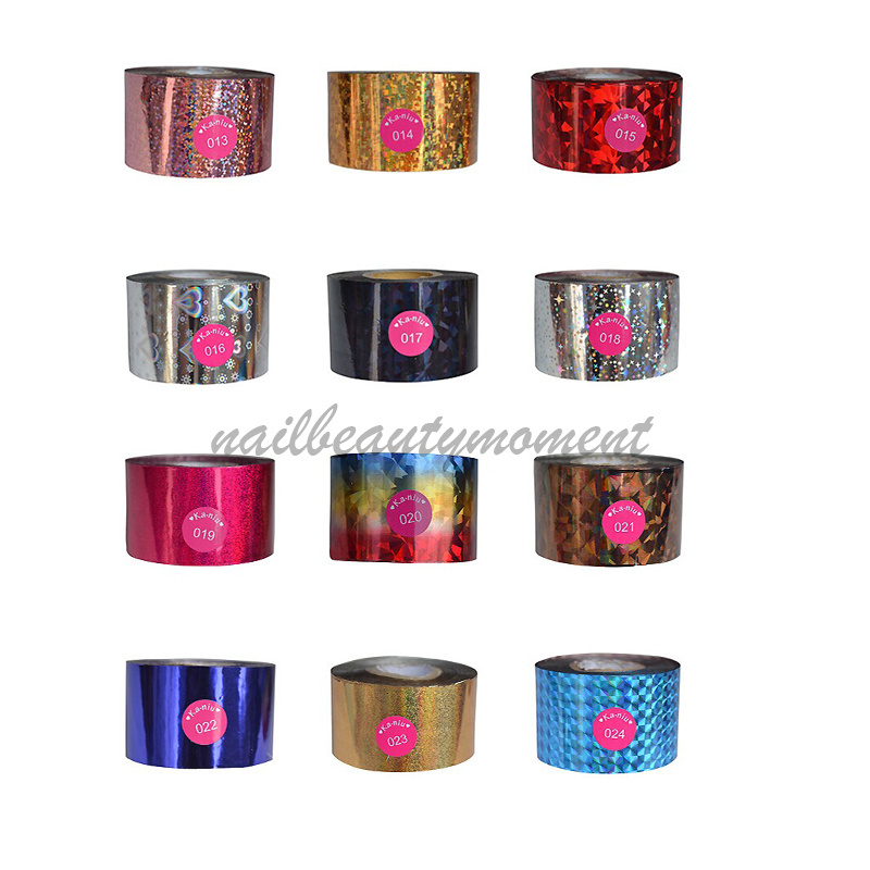 Nail Art Transfer Foil Nail Sticker (NPP08)