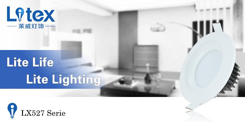 6W 12W 24W Pkw Aluminium LED SMT Down Light (LX527/6W)