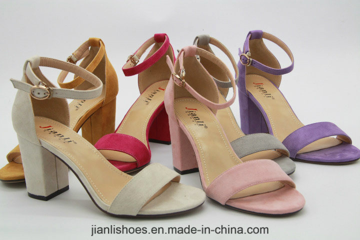 2018 Sexy Ladies Colorful Flannelette Women Sandal Shoe (HSA42)
