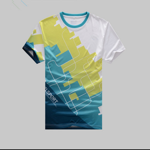 China New Design All Over Dye Sublimation Printing T