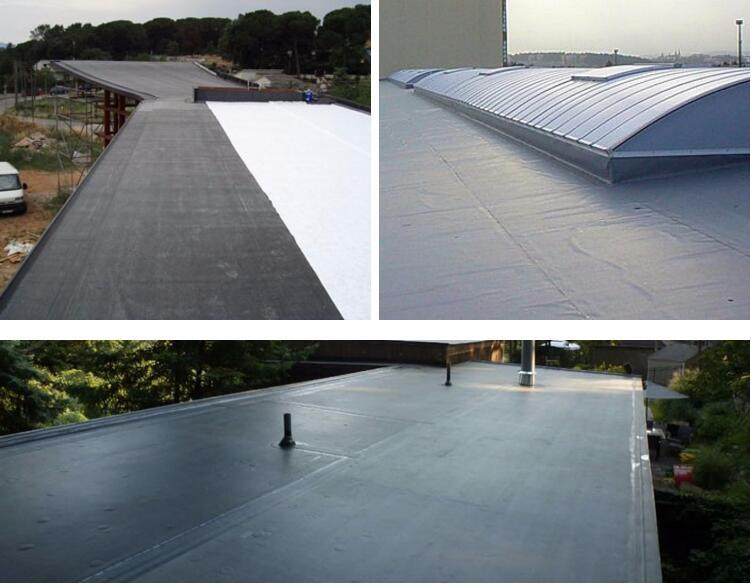 China top quality epdm rubber roofing waterproof membrane for flat roof china epdm rubber - Advantages using epdm roofing membrane ...
