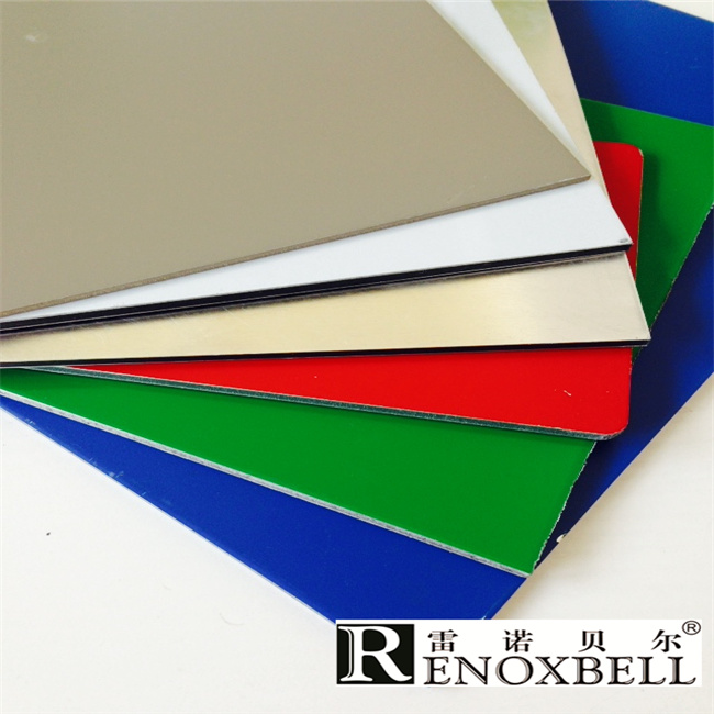 China aluminium composite panel for cladding and for Aluminium decoration