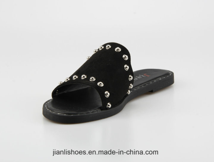 2018 Classic Women Shoe Flat Slipper for Fashion Lady (FSL008)