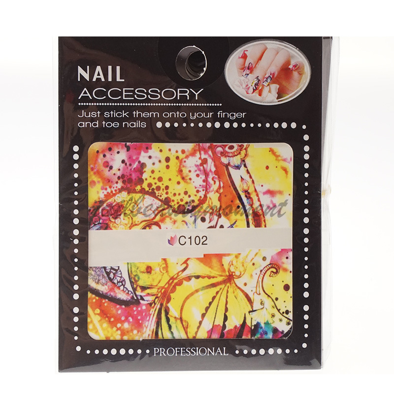 Nail Art Water Transfer Decals Stickers Products (NPP11)