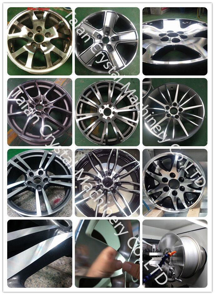 cnc wheel repair machine