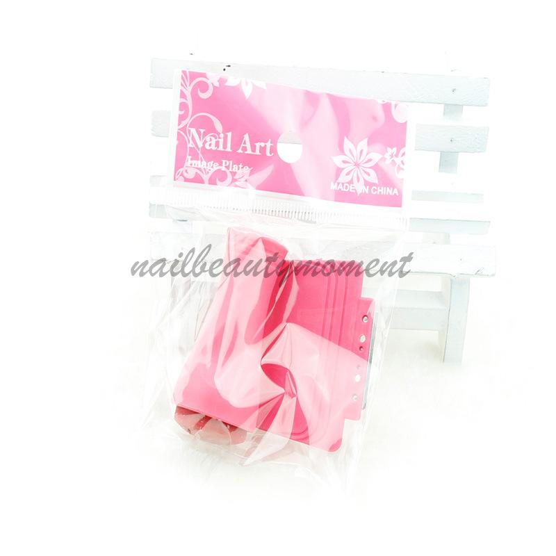 High Quality Nail Art Stamp dan Scraper Stamping Tool Set