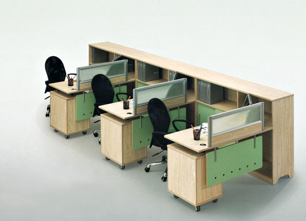 Office Workstation Desk Workstation Desk Laminate Contemporary