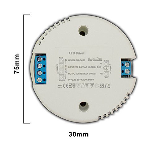Dimmable 40W Triac Round LED Driver with Constant Current